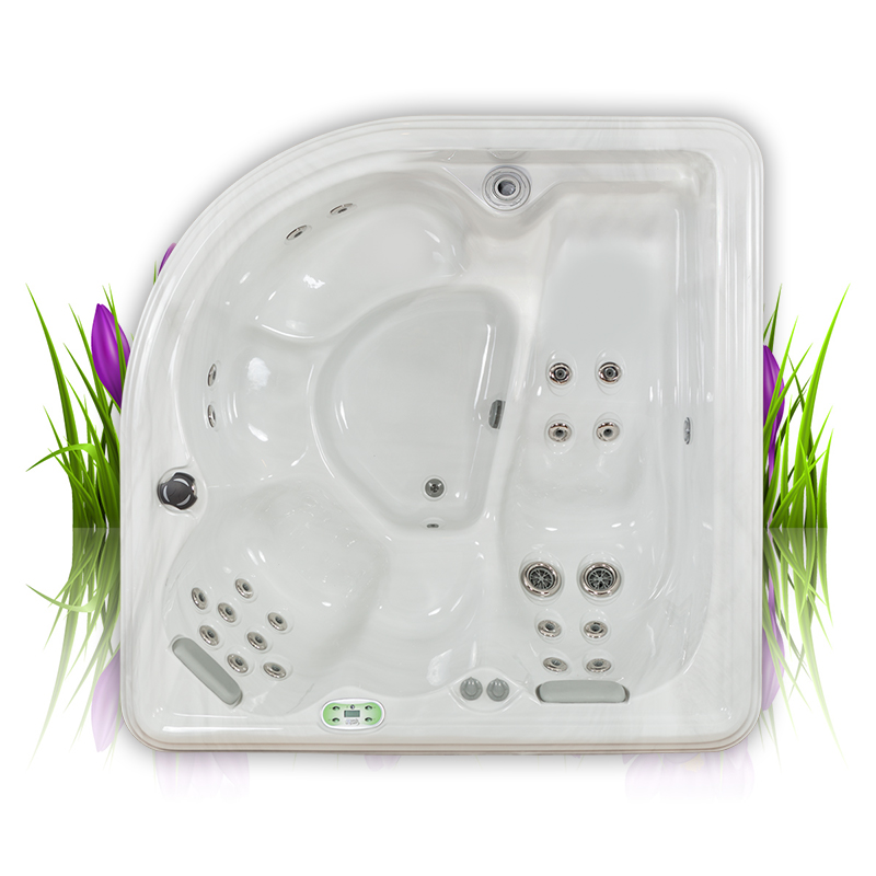 Camellia Hot Tub with 23 jets and 4 seats