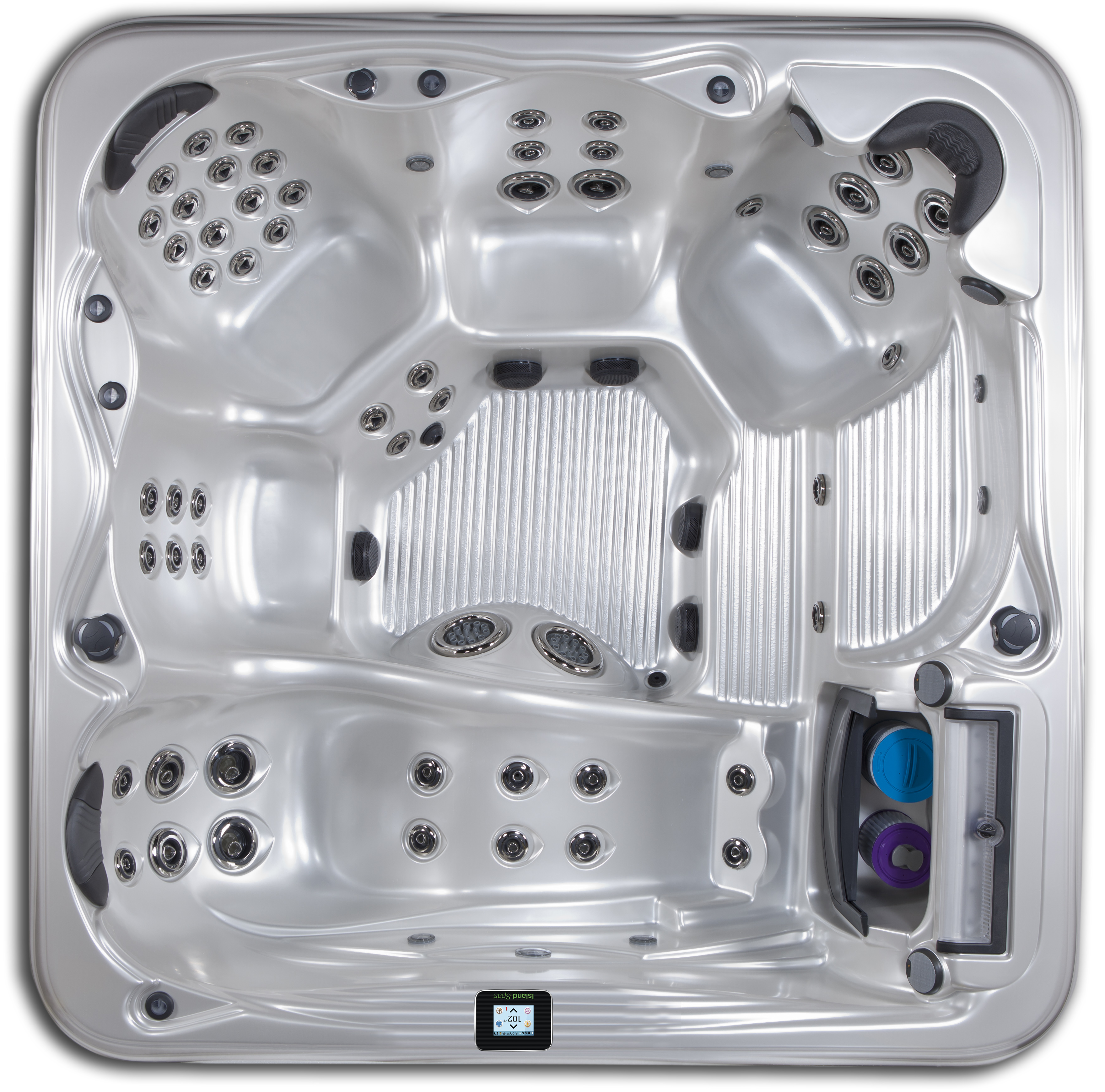 Grand Bahama hot tub with 6 seats and up to 62 jets